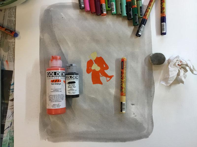 kleurig schilderen