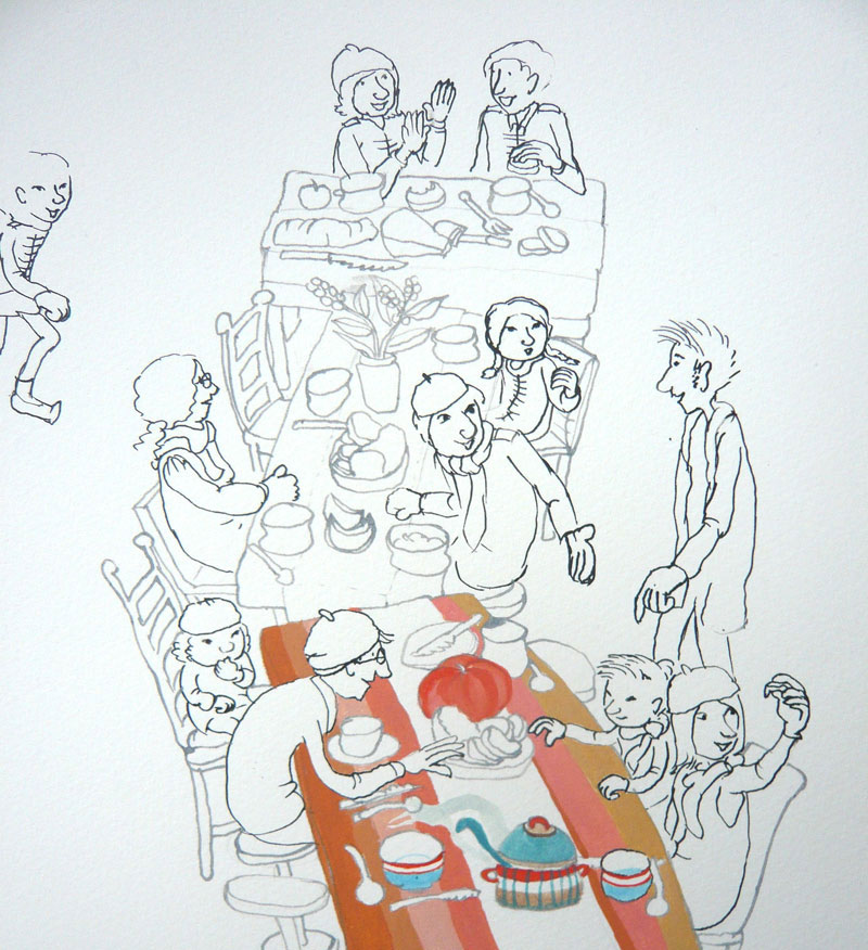 prentenboek tekenen