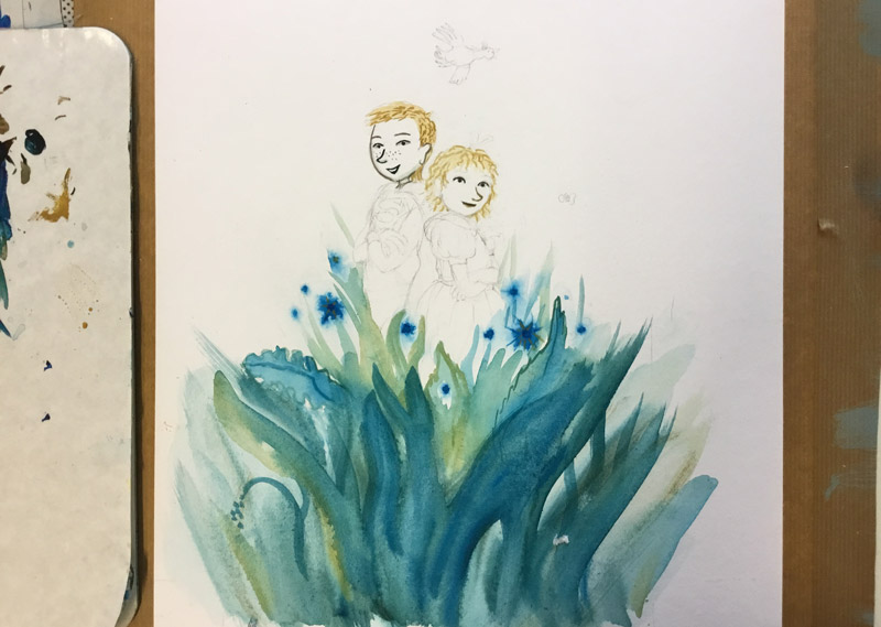 portret kinderen