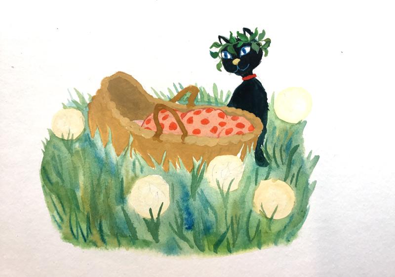 afbeelding voor een geboortekaart