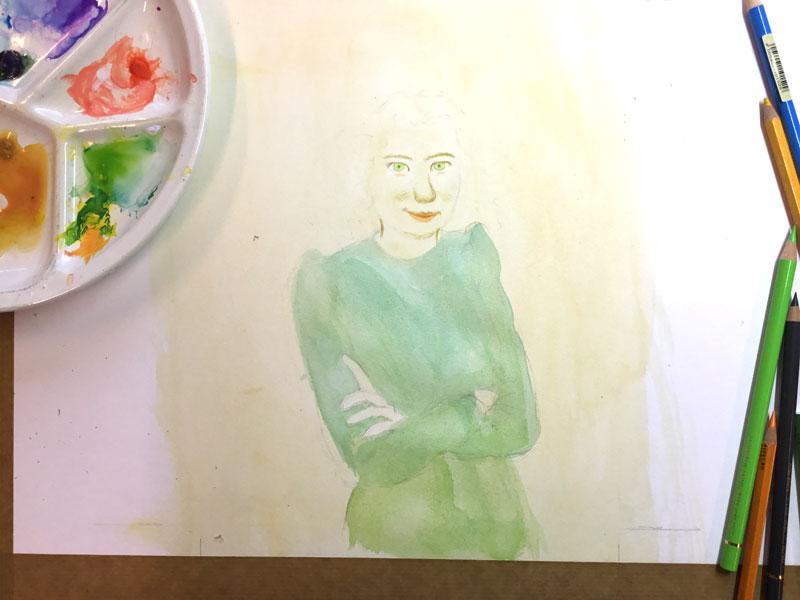 portret hannie schaft