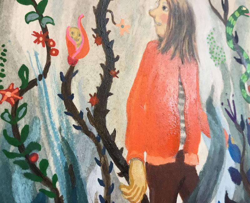 schilderen met acryla gouache